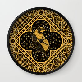 Loyalty - House Crest Wall Clock