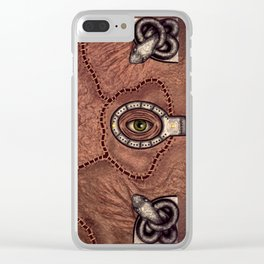 The spell book Clear iPhone Case