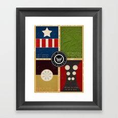 The Mighty Avengers Framed Art Print