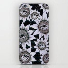 Sunflower Vision iPhone Skin