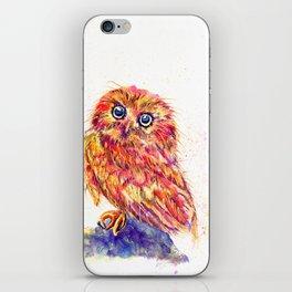 Caffeinated Owl iPhone Skin