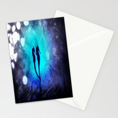 Two Seahorses Stationery Cards