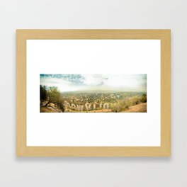 This is L.A. Framed Art Print