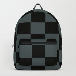 Gray & Black Chex 2 Backpack