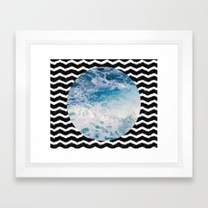 Ocean #lifestyle #home #art #prints Framed Art Print