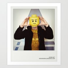 Minifig me ! – Everyone has a LEGO piece inside - 2 Art Print