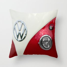 T2 Split Screen Dub Throw Pillow