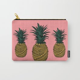 Pineapple Wrap | Pink| Carry-All Pouch