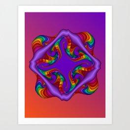 fluid -4- Art Print