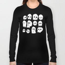Spooky Skulls Long Sleeve T-shirt