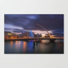 The Hanging Harp Canvas Print