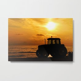 Dawn Treads Metal Print