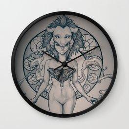 Strength (VIII) Wall Clock