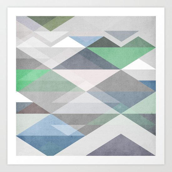 Nordic Combination II Art Print