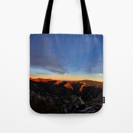 Sunset on the Catalinas Tote Bag