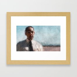 Gus Fring Returns - Better Call Saul Framed Art Print