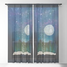 Open Your Imagination Sheer Curtain