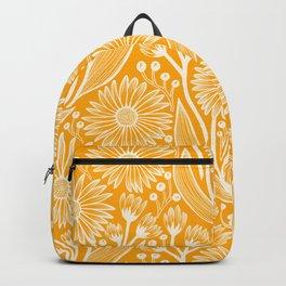 Saffron Coneflowers Backpack