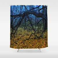 tigers Shower Curtains featuring Lions, Tigers, And Bears....... by Kent Moody