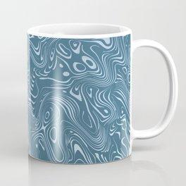 flowing lines Coffee Mug
