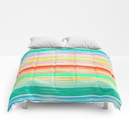 Waves_Multicolor2 Comforters