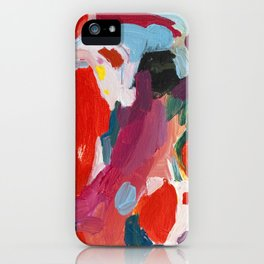 Color Study No. 1 iPhone Case