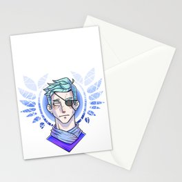 Wings and lights Stationery Cards