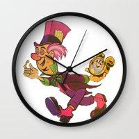 lsd Wall Clocks featuring LSD by I-Am The-chukchee