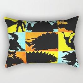 Ultraman Monsters Rectangular Pillow