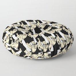 Trash Man Floor Pillow