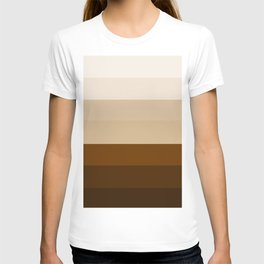 Coffee Liqueur and Cream Mix - Abstract T-shirt