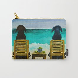 Beach Bums Carry-All Pouch