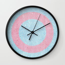Lying in a zero circle Wall Clock