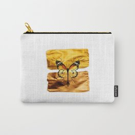 Gold and copper butterfly Carry-All Pouch