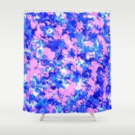 Crash Palette Shower Curtain