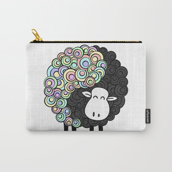 Yin Yang Sheep Carry-All Pouch
