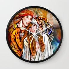 Twin Flame  Wall Clock