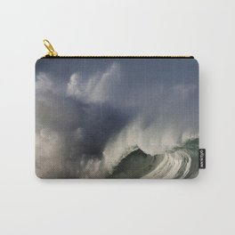 Winter Waves At Waimea Bay 4 Carry-All Pouch