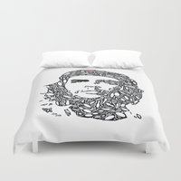 che Duvet Covers featuring Che by Rucifer