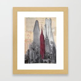 New York Prayer Framed Art Print