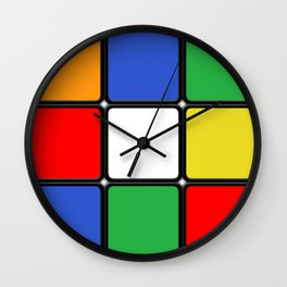 The Cube Wall Clock