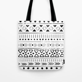 Boho Tribal Pattern Tote Bag