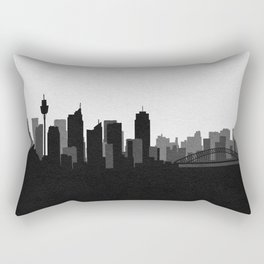 City Skylines: Sydney Rectangular Pillow