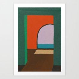 Cobijo Art Print