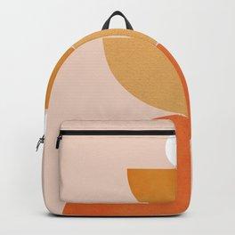 Abstraction Circles Balance Modern Minimalism 007 Backpack