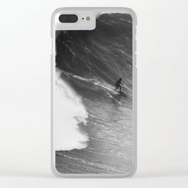 Biggest wave in the world 2 Clear iPhone Case