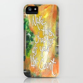 Chapter iPhone Case