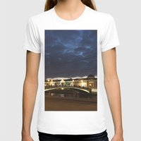 moscow T-shirts featuring Night Moscow. by Mikhail Zhirnov