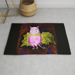 Little Cute Flying Devil Rug