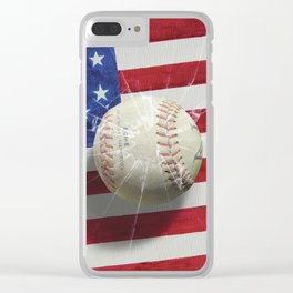 Baseball - New York, New York Clear iPhone Case